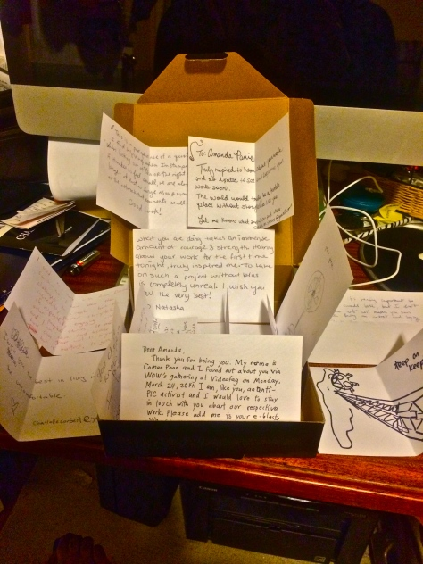 The WOW Project Notes of Support