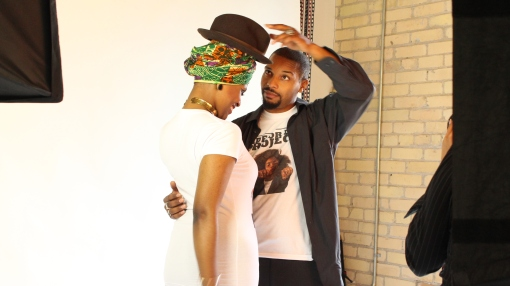 Behind-the-Scenes from September 30th, 2014 Photo Shoot