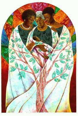 Family Tree (Limited Edition Lithograph) - Keith Mallett